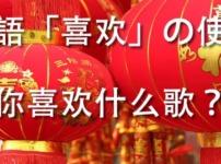 中国語喜欢の使い方